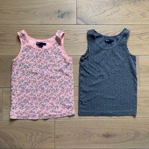 Bundle (2) girls tank tops